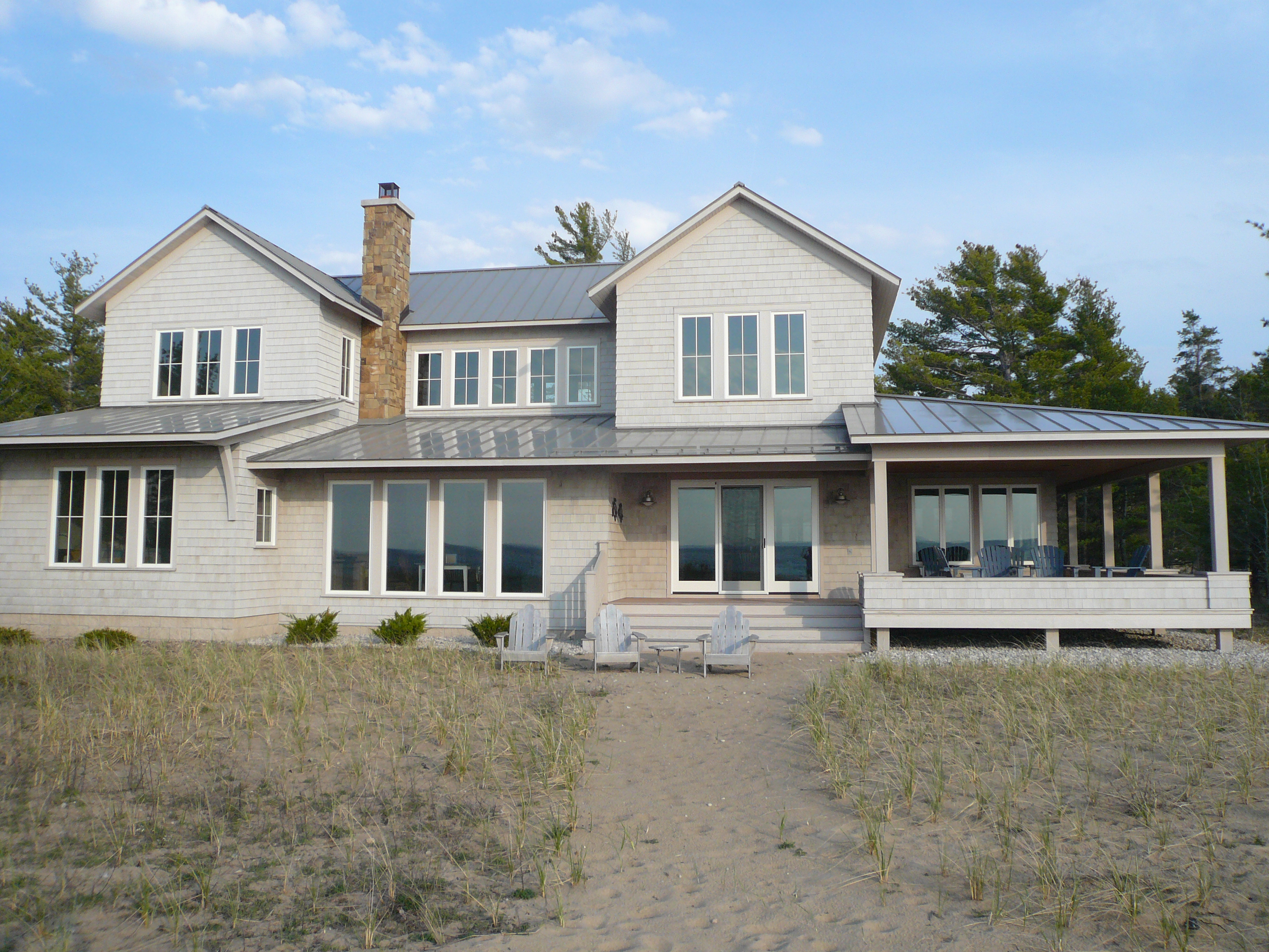 Lake michigan cottage heart homes inc for Cottage builders in michigan
